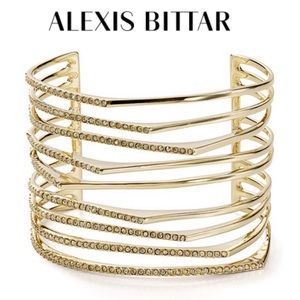 Alexis Bittar Golden Sharp Cuff